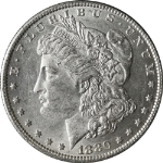1880-O Morgan Silver Dollar