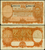 FR. Pick# 25 shilling 1939 World Paper Money