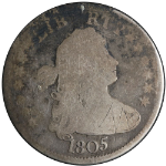 1805 Bust Quarter AG/G Details Decent Eye Appeal