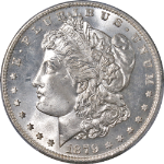 1879-S Morgan Silver Dollar PCGS MS66 Blazing White Gem Nice Strike STOCK