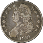 1831 Bust Half Dollar Choice F/VF 0-109 R.1 Nice Strike