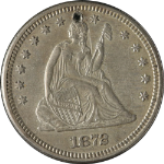 1872-P Seated Liberty Quarter