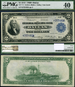 FR. 776 $2 1918 Federal Reserve Bank Note Dallas PMG XF40