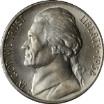 1938-P Jefferson Nickel