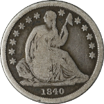 1840-O Seated Liberty Dime