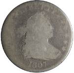 1807 Bust Quarter AG Decent Eye Appeal