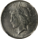1923-S Peace Dollar NGC MS62 Decent Eye Appeal Nice Luster