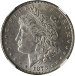 1878-P 7TF Rev 78 Morgan Silver Dollar NGC MS62 Nice Eye Appeal Bright White