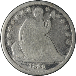1839-O Seated Liberty Dime