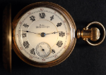 Pocket Watch - Columbus Watch Company Size 18 Fahys Monarch Hunter Case Working