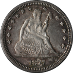 1877-P Seated Liberty Quarter Nice Unc Nice Eye Appeal Nice Luster Nice Strike
