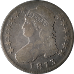 1813 Bust Half Dollar Nice VG 0-103 R.2 Great Eye Appeal