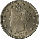 1912-P Liberty V Nickel
