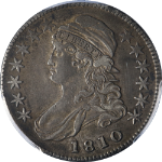 1810 Bust Half Dollar PCGS XF40 0-110 R.2 Great Eye Appeal Nice Strike
