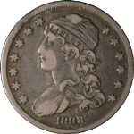 1838 Bust Quarter Choice VF+ Great Eye Appeal Nice Strike