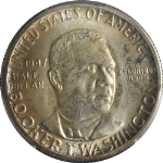 1947-D BTW Booker T Washington Half Dollar PCGS MS66 Great Eye Appeal