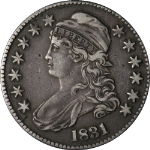 1831 Bust Half Dollar Choice XF 0-114 R.3 Great Eye Appeal Nice Strike