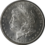 1878-CC GSA Morgan Silver Dollar NGC MS61 Bright White Nice Eye Appeal