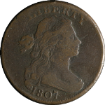 1807 Large Cent Large Fraction Nice F+ S.275 R.3 Nice Eye Appeal Nice Strike