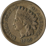 1859 Indian Cent