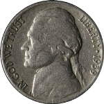 1939-P Jefferson Nickel