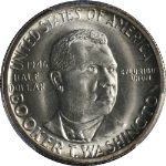 1946-D BTW Booker T Washington Half Dollar PCGS MS66 Great Eye Appeal