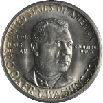 1948-P BTW Booker T Washington Half Dollar PCGS MS66 Bright White Nice Strike