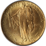 1926 Sesqui Commemorative Gold $2.50 PCGS MS65 Blazing Gem Great Eye Appeal