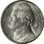 1942-S Jefferson Nickel
