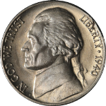 1940-D Jefferson Nickel