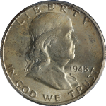 1948-P Franklin Half Dollar PCGS MS65FBL Great Eye Appeal Nice Luster