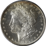 1880-S Morgan Silver Dollar PCGS MS64PL Superb Eye Appeal Fantastic Luster