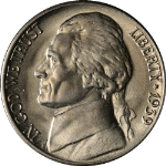 1939-D Jefferson Nickel