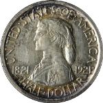 1921 Missouri Commem Half Dollar Nice BU+ Great Eye Appeal Nice Luster