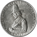 1921 Pilgrim Commem Half Dollar