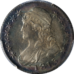 1813 Bust Half Dollar PCGS AU58 0-109 R.3 Superb Eye Appeal Beautiful Color