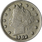1902 Liberty V Nickel