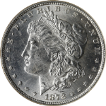 1878-P 7TF Rev 79 Morgan Silver Dollar NGC MS62 Bright White Nice Eye Appeal