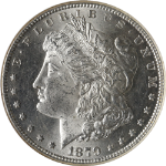 1879-S Morgan Silver Dollar Top 100 Rev of 78 NGC MS63 Blazing White