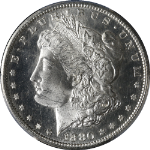 1880-S Morgan Silver Dollar PCGS MS64+PL Superb Eye Appeal Strong Strike
