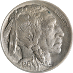 1913-P  Type 1 Buffalo Nickel