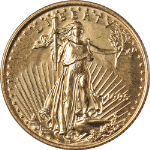 1995 Gold American Eagle $10 - Better Date - Impaired