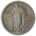 1917-P Type 1 Standing Liberty Quarter