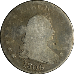 1806 Draped Bust Quarter G Details Decent Eye Appeal