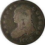1821 Bust Quarter Choice G/VG Superb Eye Appeal Nice Strike