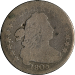 1805 Bust Dime 4 Berries AG Decent Eye Appeal Great Value