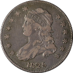 1825/4/2 Bust Quarter Close Date Browning #2 Choice VF/XF Great Eye Appeal