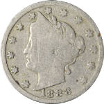 1888 Liberty V Nickel