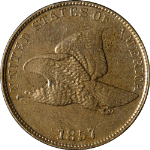 1857 Flying Eagle Cent Choice AU/BU Great Eye Appeal Nice Luster Nice Strike