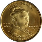 2011-W First Spouse Gold $10 Julia Grant PCGS MS70 - 1st Strike Flag Label STOCK